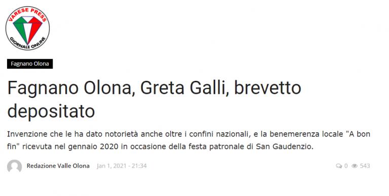articolo di Varese Press