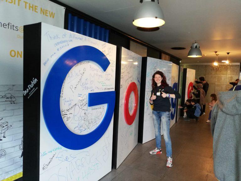 A maggio 2019 ho avuto la possibilità di visitare la sede europea di Google